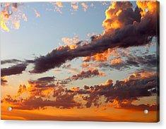 Sunset 5 Acrylic Print by Ashley Balkan