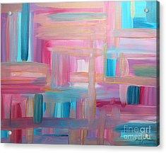 Sunset Abstract Acrylic Print