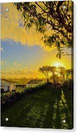 Sunset After Rain Acrylic Print by SM Shahrokni