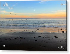 Acrylic Print featuring the photograph Sunset by Alex King