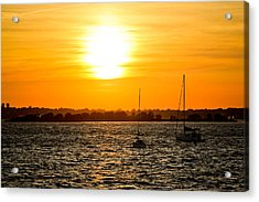 Sunset  Acrylic Print by Allan Millora Photography