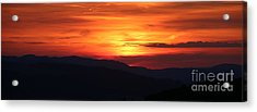 Sunset Acrylic Print by Amanda Mohler