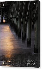 Sunset Apache Pier Acrylic Print
