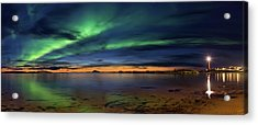 Sunset At Andenes Acrylic Print by Roy Samuelsen
