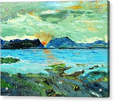 Sunset At Bic Acrylic Print