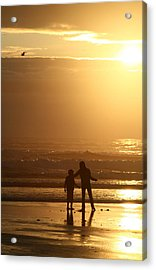 Sunset At Cannon Acrylic Print