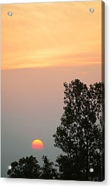 Sunset At Forks Of The Credit Park Acrylic Print