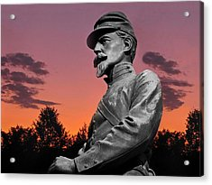 Sunset At Gettysburg  Acrylic Print