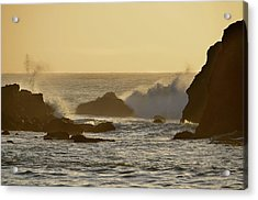 Sunset At Half Moon Bay Acrylic Print