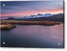 Sunset At Klondike Lake Acrylic Print by Cat Connor