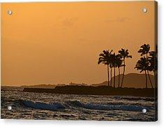 Sunset At Koloa Acrylic Print