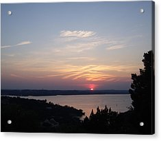 Sunset At Lake Travis Acrylic Print