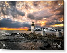 Sunset At Marshall Point Acrylic Print by Scott Thorp