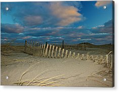 Acrylic Print featuring the photograph Sunset At Nauset Beach Cape Cod by Amazing Jules