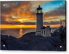 Sunset At North Head Acrylic Print by Robert Bales