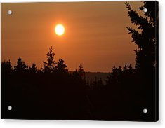 Sunset At Owl's Head Acrylic Print