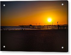 Sunset At Pismo Acrylic Print