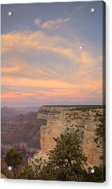 Acrylic Print featuring the photograph Sunset At Powell Point by Alan Vance Ley