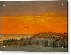 Sunset At Robert Moses Park Acrylic Print