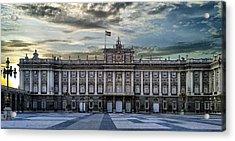 Sunset At Royal Palace Acrylic Print