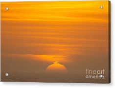 Sunset At Samoa 1.7117 Acrylic Print by Stephen Parker