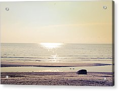 Sunset At Silver Acrylic Print