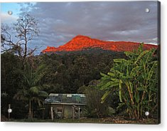 Acrylic Print featuring the photograph Sunset At Sphinx Rock by Ankya Klay