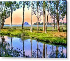 Sunset At Sweet Springs Acrylic Print