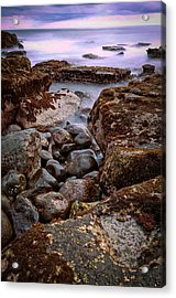 Acrylic Print featuring the photograph Sunset At Tanah Lot - Bali by Matthew Onheiber