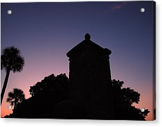 Sunset At The Gate Acrylic Print