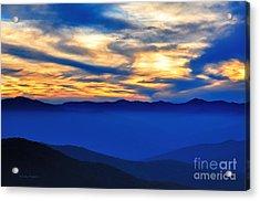 Sunset At The Max Acrylic Print