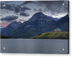 Sunset At The Prince Of Wales Acrylic Print