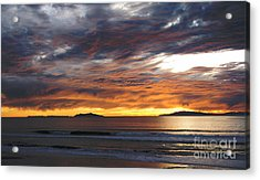 Acrylic Print featuring the photograph Sunset At The Shores by Janice Westerberg