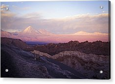 Sunset At The Valley Of The Moon Acrylic Print by Lana Enderle