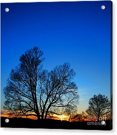 Sunset At Valley Forge Acrylic Print