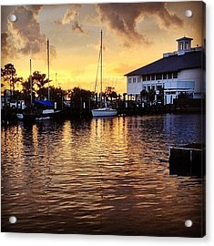 Sunset At Westend #iphone5 Acrylic Print