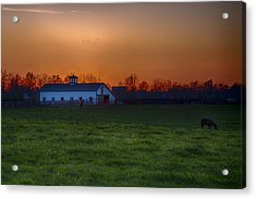 Walmac Farm Ky  Acrylic Print