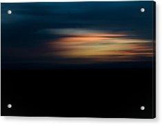 Sunset Blur Acrylic Print by Swift Family
