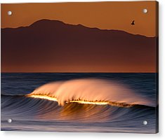 Acrylic Print featuring the photograph Sunset Breaking73a0456 by David Orias