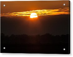 Sunset Acrylic Print by Brian Williamson