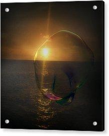 Sunset Bubble Acrylic Print