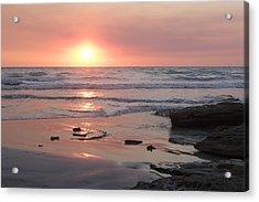 Sunset Cable Beach Acrylic Print
