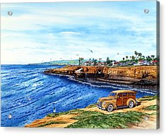 Sunset Cliffs Ocean Beach Acrylic Print