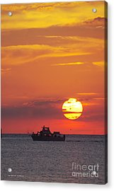 Sunset Cruise Acrylic Print by Tannis  Baldwin