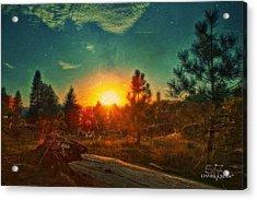 Sunset Acrylic Print by Dan Quam