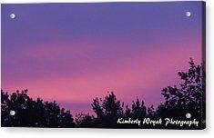 Sunset Dance Acrylic Print