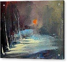 Sunset Acrylic Print by David Figielek