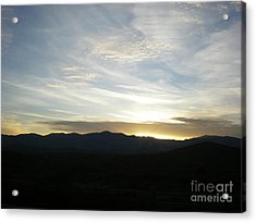 Sunset Acrylic Print by Debbie Wells