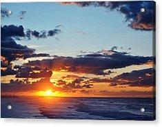 Sunset Acrylic Print by Diaae Bakri