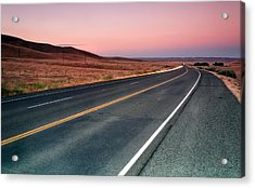 Sunset Drive Acrylic Print by Chris Frost